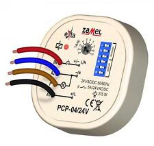 Time delay relay PCP-04/24, Multifunction, 8 independent modes, 24V AC/DC