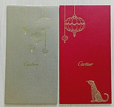 2015 Cartier CNY packet - 2 pcs (1 set - 1 gold and 1 red)