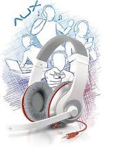 """Special Offer"" Speedlink AUX Stereo Headset Weiß-Rot, Kopfhörer, 3,5 mm klinke"