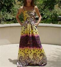 NWT Ark & Co Bohemian Smocked Maxi Dress Sz. Small