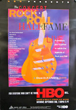 "CONCERT FOR THE ROCK & ROLL HALL OF FAME ORIGINAL 1995 HBO POSTER 40"" X 27"""