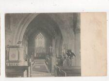 Hawarden Church The Chancel Vintage U/B Postcard 625a
