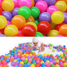 10pcs Color  Soft Plastic Ocean Ball 70MM Safty Secure Baby Kid Pit Play Toys