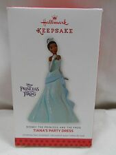 2013 Hallmark Keepsake Tiana's Party Dress Disney The Princess And The Frog