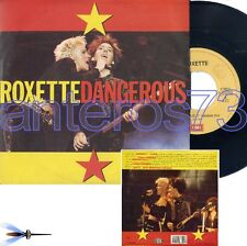 "ROXETTE ""DANGEROUS"" RARE 45RPM MADE IN ITALY - MINT"