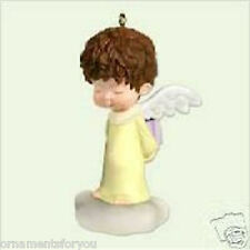 Hallmark 2005 Forsythia Mary's Angels Ornament SIGNED BY ARTIST ROBERT CHAD