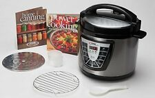 Power Pressure Cooker XL 6 QT Electric Canner As Seen on TV Bonus Pack NEW