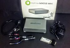 Matrox MXO2 Mini Portable HDMI & Analog Capture Device for Mac & PC ExpressCard
