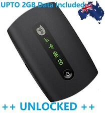 NEW & UNLOCKED OPTUS E5251 3G WiFi MODEM - UPTO 10 DEVICES ++ UPTO 2GB DATA