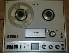 Vintage Reel-to-Reel Tape Deck TEAC R-1000 w Manual and schematics!