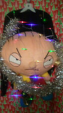 """FAMILY GUY STEWIE """" UGLY """" Tacky Christmas sweater X-LARGE L@@K LIGHTS MENS"""