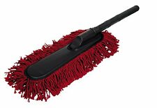 Carrand California Style Cotton Fiber Car Cleaning Duster w/ Carry Pouch