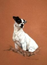 Jack Russell Limited Edition Print Thoughtful by Debbie Gillingham