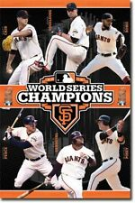 POSTER San Francisco Giants 2012 World Series Cain Vogelsong Romo Sandoval Posey