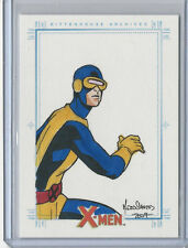Cyclops 2009 X-Men Archives Sketch Card by Mark Dos Santos 1/1