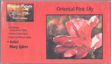 PERFECT PALETTE Video VHS ORIENTAL PINK LILY Mary Spires Watercolor Painting