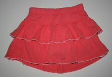 New Gymboree Coral Tiered Ruffle Swing Skirt Skort Size 4T NWT Tropical Breeze