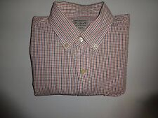 J.Crew Shirt Slim Fit Orange Button dress Shirt mens Casual small