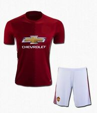 Manchester United Football jerseys Home Kit Jersey with shorts  2016-17 KIT.