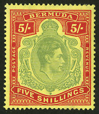 Bermuda  1938-51  Scott # 125a  Mint Very Lightly Hinged