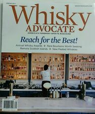 Whisky Advocate Spring 2017 Reach for the Best Spirits Bourbon FREE SHIPPING sb