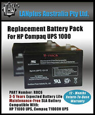 NEW Replacement Battery Pack for Compaq HP UPS 1000 T1000 T1000H 12-month wty