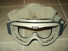 ESS OAKLEY US MILITARY ISSUE NVG PROFILE DESERT TAN BALLISTIC GOGGLES