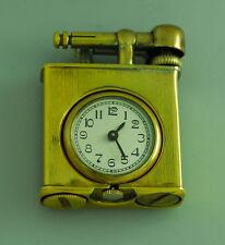 1930's VINTAGE UNKNOWN LIFT ARM WATCH CIGARETTE LIGHTER – ART DECO
