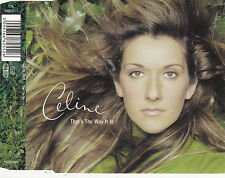 MAXI CD 3T CELINE DION THAT'S THE WAY DE 1999