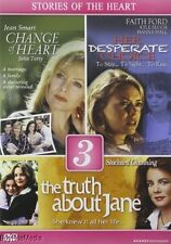 Change of Heart / Truth About Jane / Her Desperate Choice  (DVD, 2012  3 Movies)