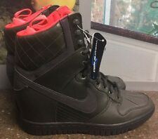 Nike Women's Dunk Sky Hi Wedge 2 Sneakerboot Sequoia Green 807401 300 No Box