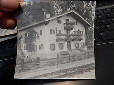 Kitzbühel  1945 - 46   PRIVATE PHOTOGRAPH  c    90 x 90 mm