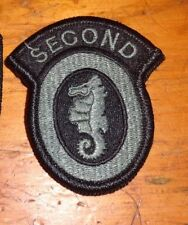 ARMY PATCH, SECOND ENGINEER BRIGADE ,ACU,  W/VELCR