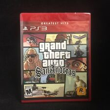GTA Grand Theft Auto: San Andreas (PlayStation 3) Brand New
