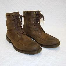BANANA REPUBLIC Men's Brown Leather Mismatched Boots US Size Left 9 Right 8.5