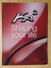 FORD KA 1997 UK Mkt publicity / promotional sales brochure - Ka2