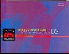 Citroen DS 50th Anniversary 2005 original programme