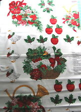 "Craft Panel ""bountiful Christmas Appliques"", Geese/Pointsettias/Ivy/Ribbons"