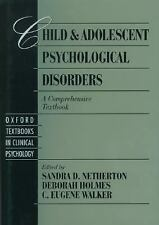 Oxford Series in Clinical Psychology: Child and Adolescent Psychological...