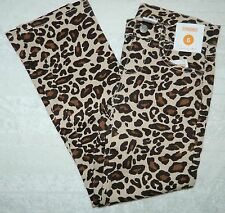 NWT GYMBOREE girls Spotted Leopard DENIM Jeans Pants* 6 New
