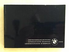 New BMW 1500 Operations Manual Owner's Handbook. 3 Languishes. English.