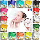 10pcs Korean Essence Facial Mask Sheet, Moisture Face Mask Pack Skin Care 16type