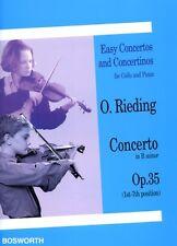 Rieding: Concerto in B Minor Op.35 (Cello & Piano) BOE004551