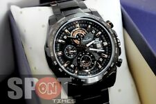 Casio Edifice Black Chronograph WR 100m Men's Watch EFR-523BK-1
