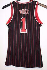 Adidas Chicago Bulls Women's Jersey Derrick Rose HWC 1995-1996 Pinstripe SZ S