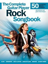 Complete Guitar Player Rock Songbook - Guitar Book NEW 014043450