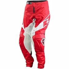 ONE INDUSTRIES YOUTH ATOM VENTED RED MOTOCROSS PANTS - SIZE 22