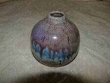 California Pottery Vase Signed Fabrile Studios Big Bear CA GREAT Good