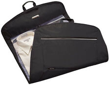Ricardo Deluxe Garment Bag Carry On Luggage - Black