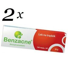 Benzacne x 2 - 10% 50mg/g, gel 60g (2x30g), Acne Treatment, Benzoyl Peroxide